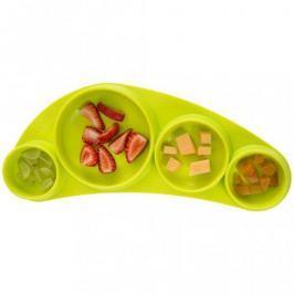Silikonowy talerz Tiny Tapas Koo-di - zielony Naczynia i sztućce dla dzieci