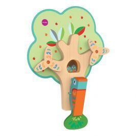 Zabawka do zamocowania na ścianie VertiPlay Oribel - zapracowany dzięcioł Pozostałe zabawki