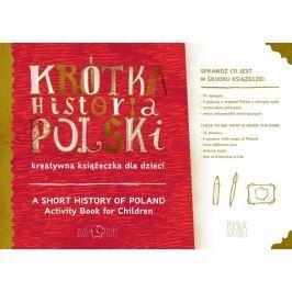 Krótka historia Polski - kreatywna książeczka Pozostałe zabawki edukacyjne