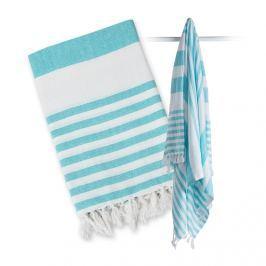 Ręcznik turecki wielofunkcyjny (150x100) - błekitny Ręczniki i okrycia kąpielowe
