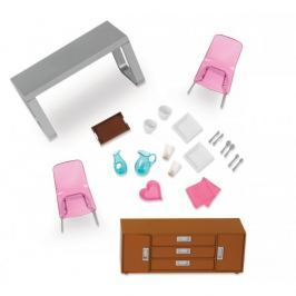 Akcesoria Lori -  zestaw mebli - jadalnia