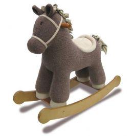 Konik na biegunach - brązowy Pozostałe zabawki