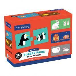 Połącz w pary Mudpuppy - zwierzęta i ich dzieci Pozostałe zabawki edukacyjne