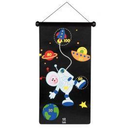 Magnetyczne rzutki (duże) - kosmos
