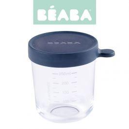 Słoiczek Beaba z hermetycznym zamknięciem 250 ml - dark blue