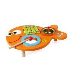 Drewniany Stół Muzyczny - 3w1 Zabawki muzyczne