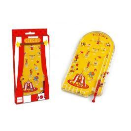 Gra PINBALL żółta - cyrk Dla dzieci