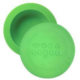 Silikonowa miseczka z pokrywką Oogaa - Green Bowl & Lid