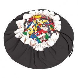 Worek na zabawki Play&Go - czarny Skrzynie i pojemniki na zabawki