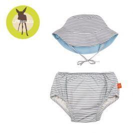 Zestaw plażowy majtki z pieluszką+kapelusz Splash&Fun (UV 50+) - Submarine (6mc)