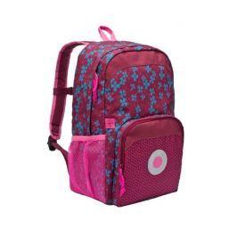 Plecak szkolny z kieszenia termiczną Lassig - blossy pink Torby i torebki dziecięce