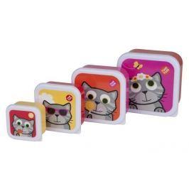 Zestaw pojemniczków na przekąski - kotek