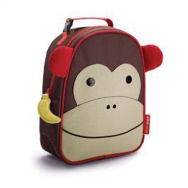 Śniadaniówka Zoo Skip Hop Lunchies - małpka Naczynia i sztućce dla dzieci