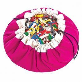 Worek na zabawki Play&Go - fuksja Skrzynie i pojemniki na zabawki