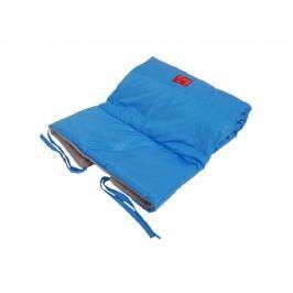Kocyk i śpiworek do wózka 2w1 Kaiser Star - niebieski Koce i narzuty dziecięce