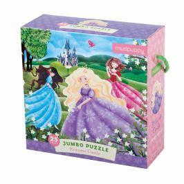 Puzzle Jumbo Mudpuppy - zamek księżniczek (25 dużych elem.)