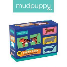 Połącz w pary Mudpuppy - nauka języków ze zwierzątkami - angielski/hiszpański