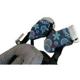 Mufka-rękawice do wózka Tris&Ton - floral azul