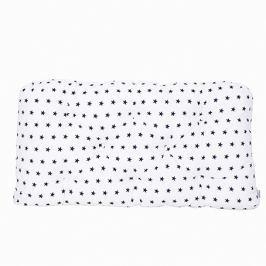 Poduszka-wezgłowie duża - gwiazdki - biało-granatowe Pościel dla dzieci