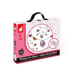 Zestaw artystyczny do tworzenia biżuterii z kurczliwego plastiku - motyle Pozostałe zabawki edukacyjne