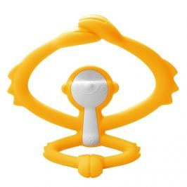 Zabawka Gryzak Mombella Małpka - żółty