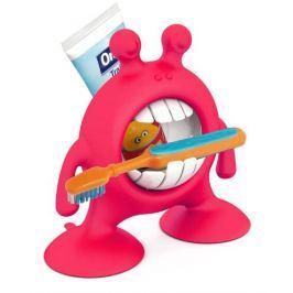 EyeSmile - pojemnik na szczoteczkę i pastę do zębów Prince Lionheart czerwony
