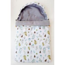 Śpiwór nieprzemakalny wiosenno-letni Samiboo Superb Mini z regulowaną grubością - leśny