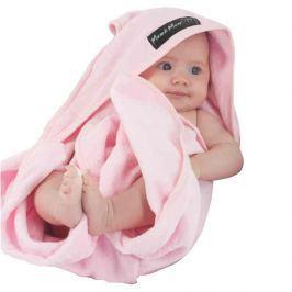 Ręcznik kąpielowy z kapturkiem różowy