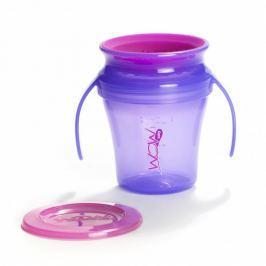 Kubek niekapek 360° baby juicy - fioletowy Naczynia i sztućce dla dzieci