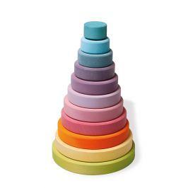 Wieża Grimm's - kolory pastelowe - 10 elementów