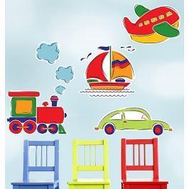 Naklejki naścienne Wallies - dekoracja wielkoformatowa: podróże Dziecięce akcesoria dekoracyjne