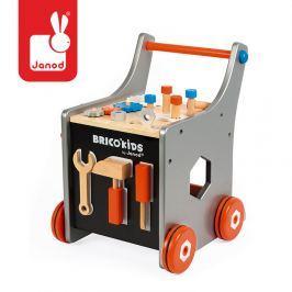 Wózek  warsztat magnetyczny z narzędziami Brico 'Kids akcesorii dla dzieci