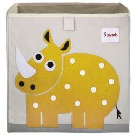Pudełko na zabawki - nosorożec Skrzynie i pojemniki na zabawki