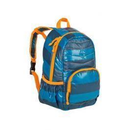 Plecak szkolny pikowany Lassig - striped petrol Torby i torebki dziecięce