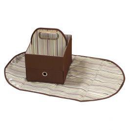 Podręczny organizer na pieluchy - brązowy