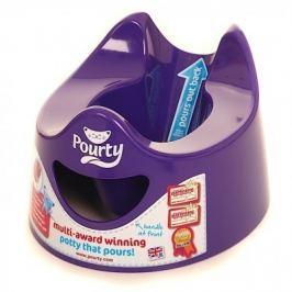 Sprytny nocniczek Pourty fioletowy Nocniki nakładki na WC i podesty