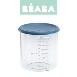 Słoiczek Beaba z hermetycznym zamknięciem 420 ml - blue