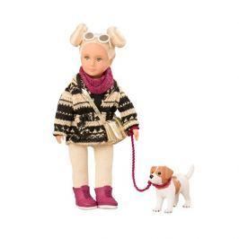 Lalka Lori z pieskiem - Dakota & Duke Lalki