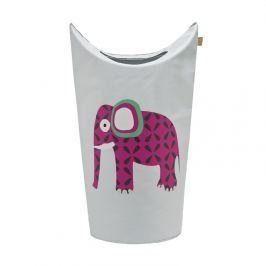 Kosz na pranie lub zabawki Lassig Wildlife - słoń