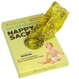 Woreczki na pieluszki (60 szt.) - biodegradowalne, zapachowe - cytrynowe Pozostałe akcesoria do pielęgnacji dzieci