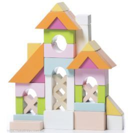 Drewniane klocki Cubika - domek