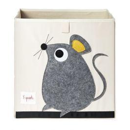 Pudełko na zabawki - myszka Skrzynie i pojemniki na zabawki