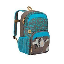 Plecak szkolny z kieszenia termiczną Lassig - dino slate