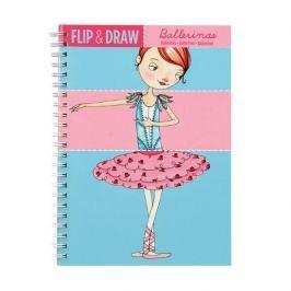 Zeszyt kreatywny Mudpuppy - rysuj, koloruj, miksuj - baletnice