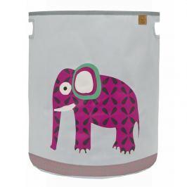Kosz na zabawki Lassig Wildlife - słoń Skrzynie i pojemniki na zabawki