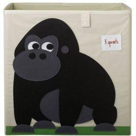 Pudełko na zabawki - goryl