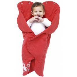 Otulacz-śpiworek Fleur Wallaboo -  Poppy red