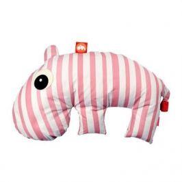 Poduszka 3 w 1 - różowy hipopotam