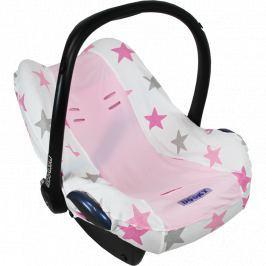 Pokrowiec do fotelika Dooky Seat Cover - Pink Stars 0+