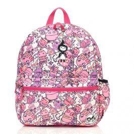 Plecak Zip&Zoe Junior - Robot Pink (5-9lat)